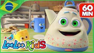 Estou Bule Pequeno - Música para crianças | LooLoo Kids Português