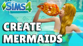 How To Turn Your Sim Into A Mermaid | The Sims 4 Island Living Guide