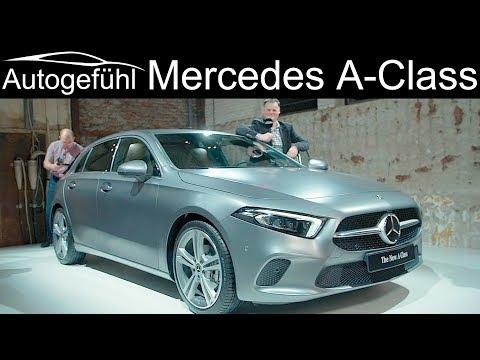 Mercedes A-Class REVIEW 2018/2019 all-new W177 A-Klasse neu - Autogefühl - Dauer: 46 Minuten