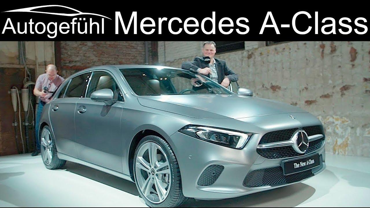 Mercedes A-Class REVIEW 2018/2019 all-new W177 AClass A-Klasse neu - Autogefühl - Dauer: 46 Minuten