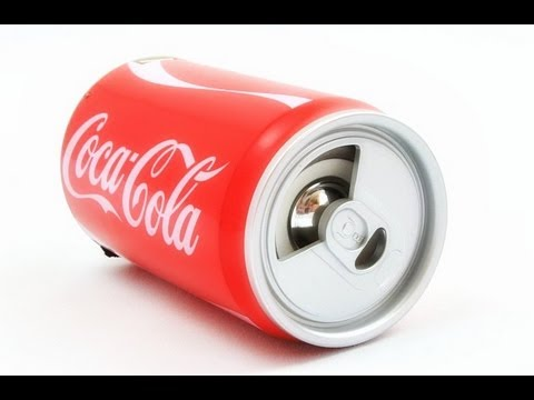 Банка-колонка Coca-Cola.