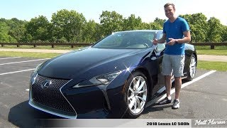 Review: 2018 Lexus LC 500h - Exotic, Exciting AND Fuel-Efficient!