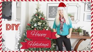 Как украсить дом к Новому году 2015 своими руками, Как украшают дома в Америке(В этом видео я расскажу как украсить дом к Новому году и поделюсь творческими проектами декорации к новому..., 2014-12-18T05:46:40.000Z)