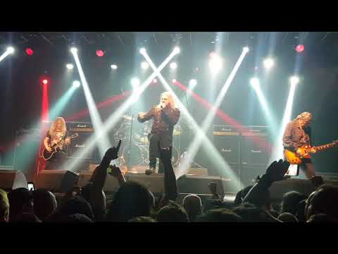 Saxon - Strong arm of the law - live in São Paulo - Brasil