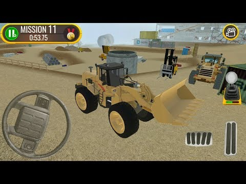 Construction Site Truck Driver - #2 Digger Truck Game - Android IOS Gameplay FHD
