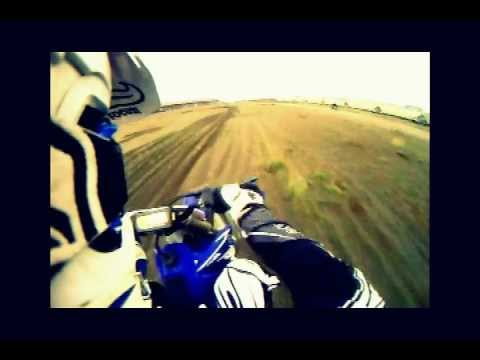 Dirt Biking in Richmond, BC triangle sand dunes with go pro hero helmet camera