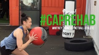 CAPAthlete- Whitney Souness, Netball Athlete: Recovering from an ACL Injury...