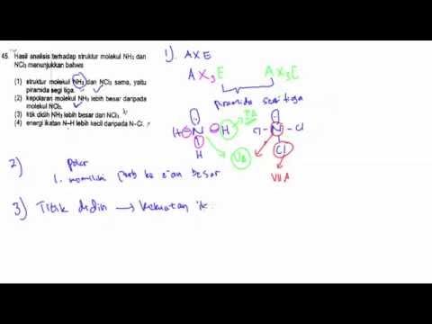 Pembahasan Soal SBMPTN Kimia 2014 No.41- 45
