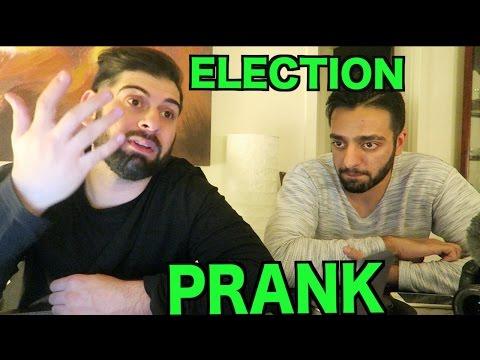 ELECTION PRANK! (TRUMP & WEED)