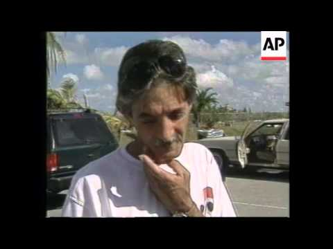 USA: FLORIDA: LAST GROUP OF CUBAN REFUGEES ARRIVE IN MIAMI