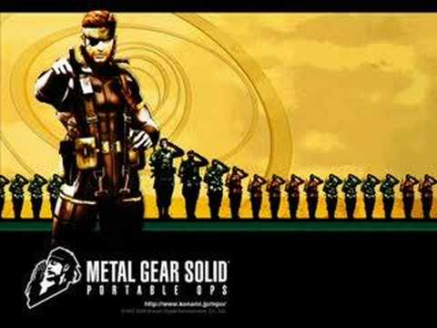 METALGEARSOLID PORTABLE OPS Calling To The Night