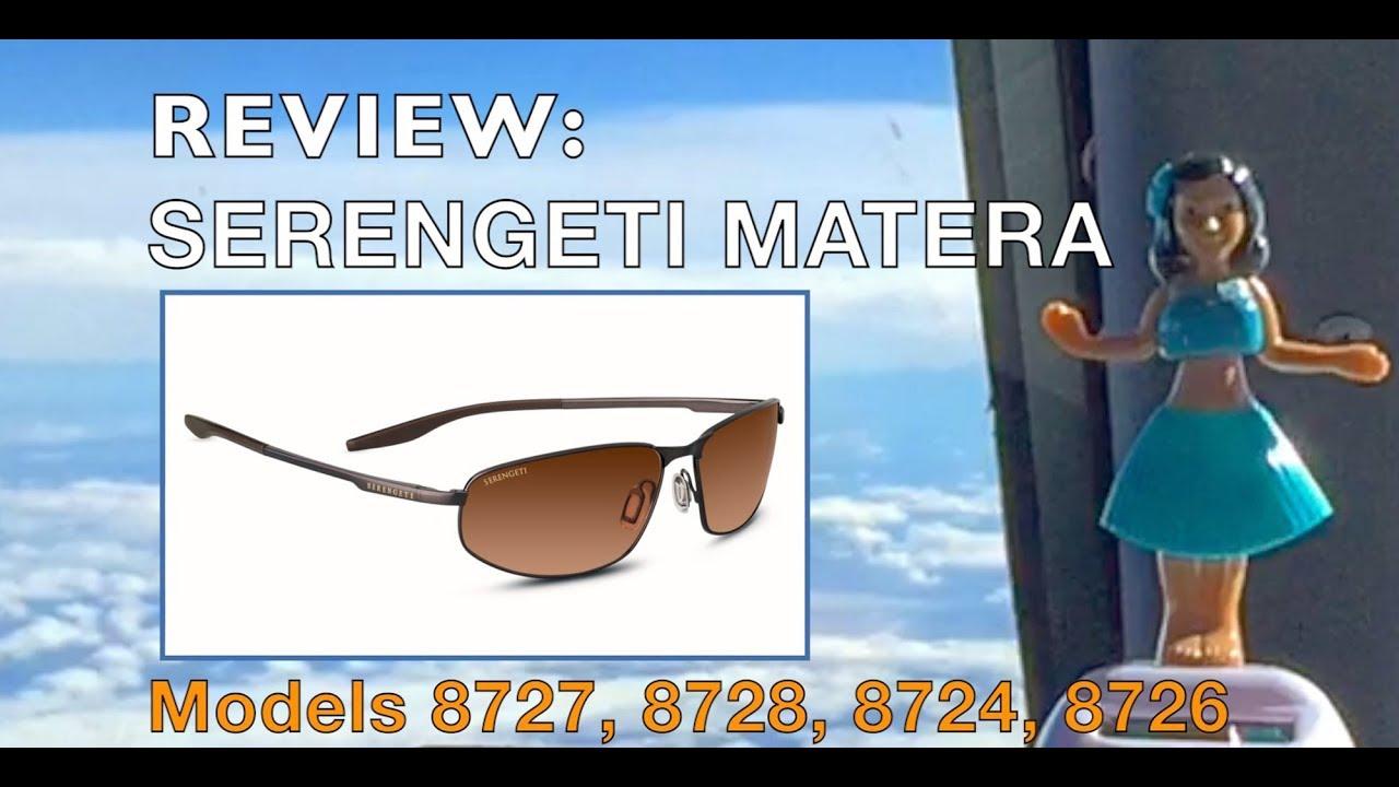 334ef9e6c118 REVIEW  Serengeti Matera Sunglasses Featuring ModelS 8727