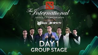 The International 2018 | Day 1 Group Stage | 23 Creative VN