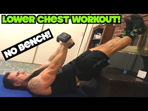 Intense 5 Minute Dumbbell Lower Chest Workout Youtube