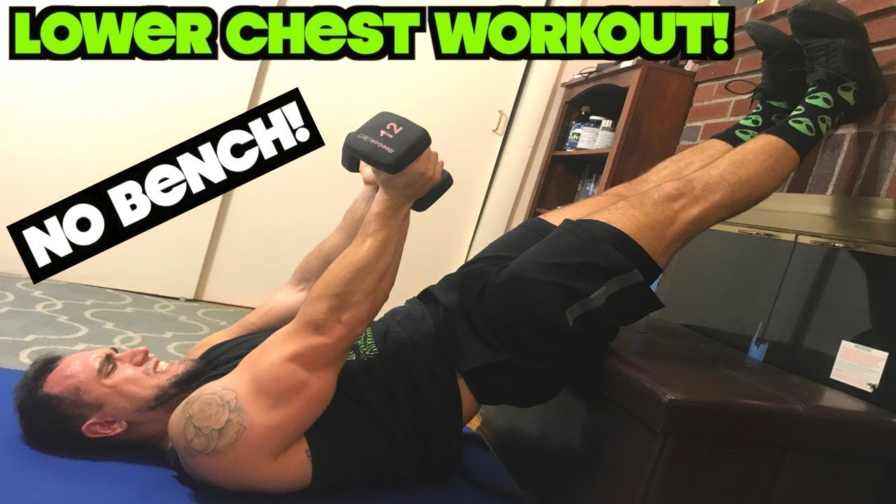 Intense 5 Minute Dumbbell Lower Chest Workout