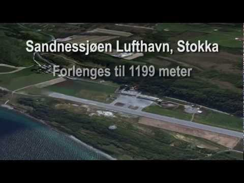 Sandnessjøen Lufthavn Stokka