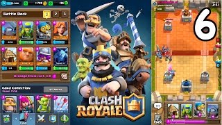 Clash Royale - Farming Trophies + Deck Upgrade!