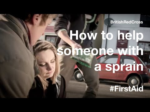 First Aid: Strains and sprains