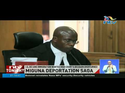 Court of Appeal dismisses applications to overturn Miguna's deportation ruling