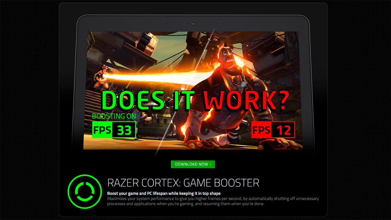 razer cortex game booster how to use