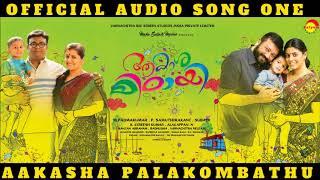 Aakasha Palakombathu Official Audio Song | Aakashamittayee | Singer Abijith Vijayan