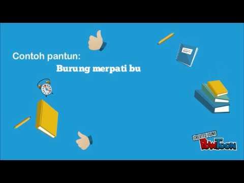 Media Pembelajaran Bahasa Indonesia Pantun Syair Youtube