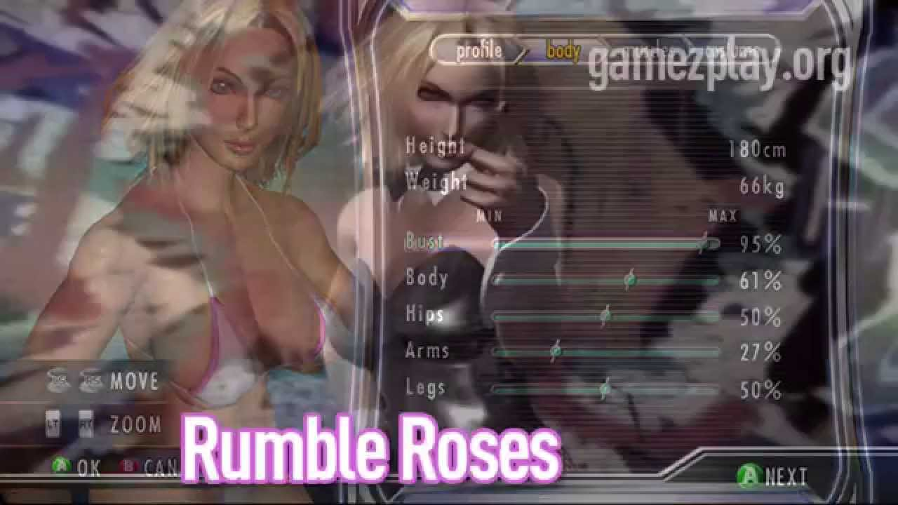 Rumble Roses Naked 106