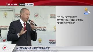 Cumhurbaşkanımız Erdoğan, Kütahya  Mitingi'nde konuşuyor... MP3