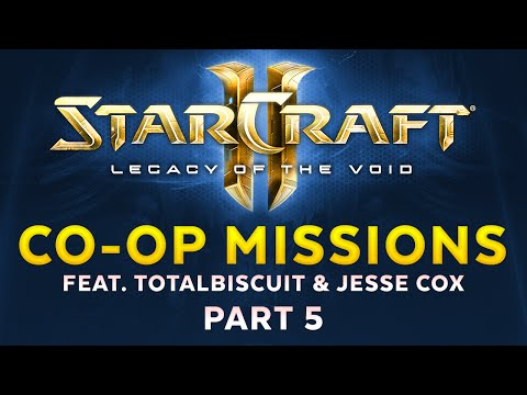Legacy of the Void - Co-op missions feat. TotalBiscuit & Jesse Cox - Part 5 [Sponsored]