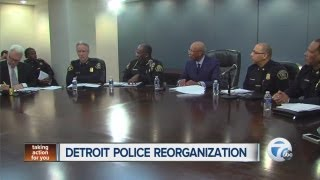 Big changes announced at Detroit Police Department