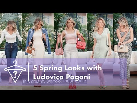 5 Spring Looks with Ludovica Pagani | #StyledByGUE...