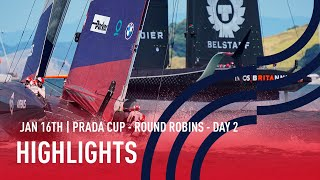 PRADA Cup Day 2 Highlights