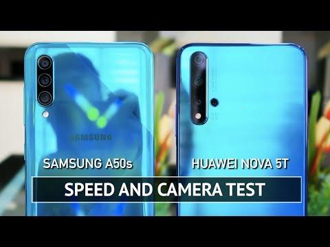 Samsung A50s Vs Huawei Nova 5T SPEED & CAMERA TEST