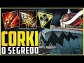 MUITA GENTE RECLAMOU DESSE PICK NO CBLOL - O SEGREDO DO CORKI SER TÃO FORTE - League of Legends