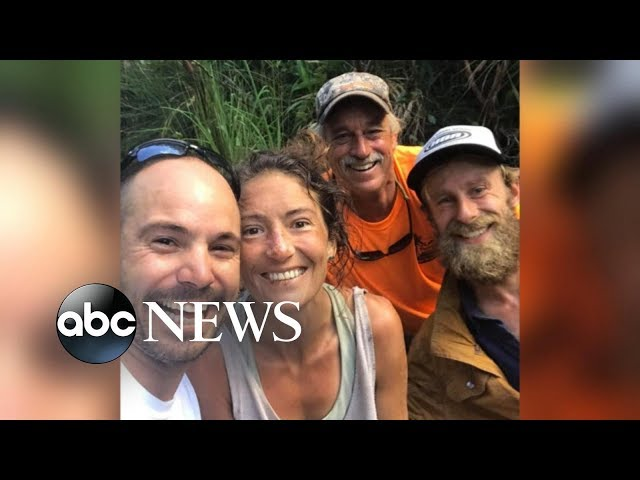 Hiker missing for 2 weeks in Hawaii found alive l ABC NEWS