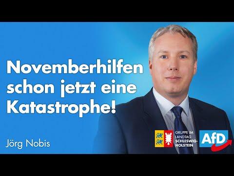 """Jörg Nobis (AfD) zum Bericht zu Wirtschaftshilfen: """"Novemberhilfen sind schon jetzt ein Desaster"""""""