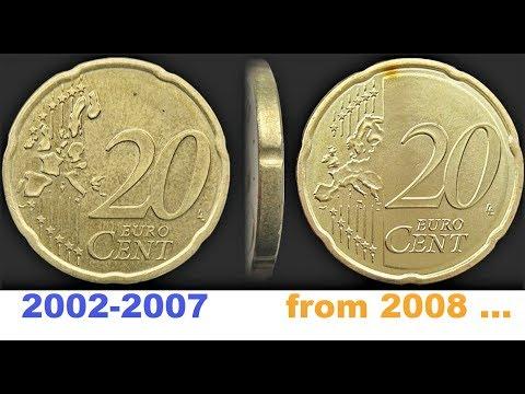 20 Euro Cent Austria 2003 2014 Mintage Coin Value, EUR Review 20 Cent Austria 20 центов Австрии