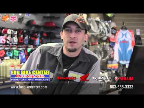 Motorcycle Parts, Accessories & Apparel at Fun Bike Center Motorsports Lakeland