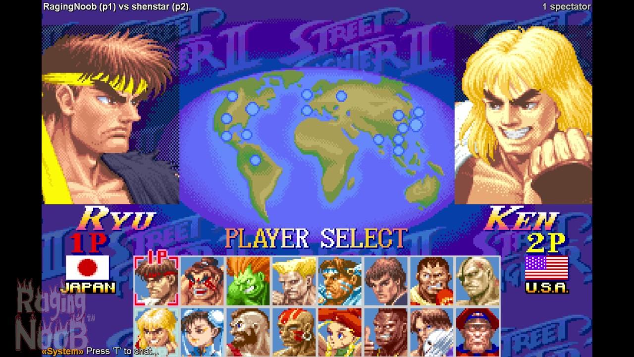 Real Battles Shenstar Yunes K21 Super Street Fighter 2 Turbo
