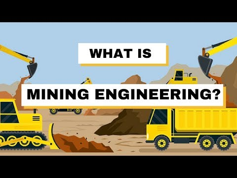 What is mining engineering?
