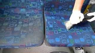 Čištění sedaček v autobusu/ Bus seats cleaning thumbnail