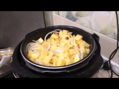 Жареная картошка в мультиварке Redmond RMC-M4504