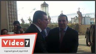 عمرو خالد و مصطفى قمر و ادوارد فى عقد قران نجل محمود الشامى على كريمة عمرو الليثى