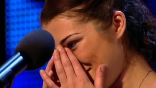 Very SCARED and SHY Alice Started To CRY    BEAUTIFUL VOICE  )