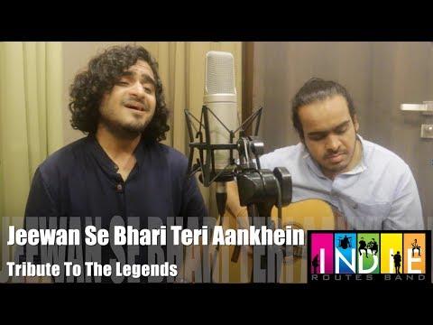 Jeevan Se Bhari Teri Aankhein | Tribute To The legends Part 8 | Aabhas & Shreyas