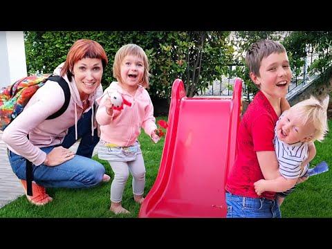 Жизнь в Турции после карантина - Семейный влог. Маша Капуки и Адриан покупают игрушку для Бьянки