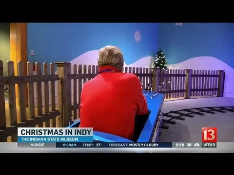 Christmas at the Indiana State Museum