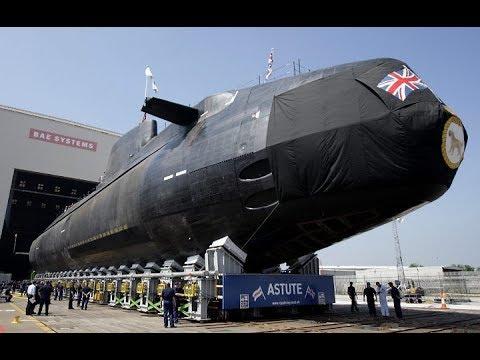 LE HMS ASTUTE : L'énorme Sous-Marin Nucléaire D'attaque Britannique ( Documentaire )