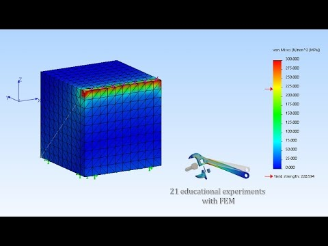Chapter 13  Stress singularity explained with SolidWorks Simulation
