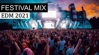 EDM FESTIVAL MIX 2021 - Party Electro Rave Music